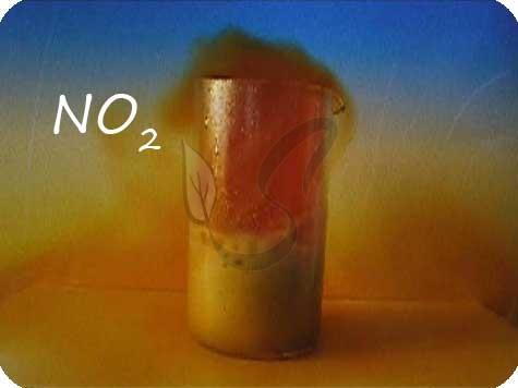 Оксид азота IV бурый газ